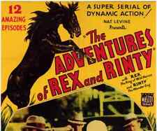 THE ADVENTURES OF REX AND RINTY, 12 CHAPTER SERIAL, 1935 - RIN TIN TIN