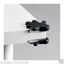 IKEA PATRULL PK 8 nero bambino sicurezza tabella / gabinetto Angolo Paraurti protector-b790