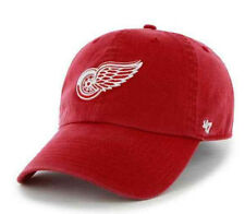 Eishockey Fanartikel 47brand Detroit Red Wings Captain Snapback Cap