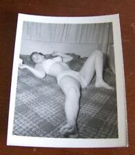 "Vintage Sexy Pin Up Original 4"" X 5"" Photograph Photo Risque Beautiful Classic 4"