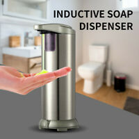 Touchless Automatic IR Sensor Stainless Steel Hands Free Soap Dispenser