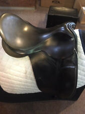"""USED County Competitor Dressage Saddle- 17"""" no.3 fit"""