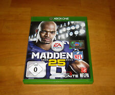 XBOX ONE - MADDEN 25 YEARS JUBILÄUMSEDITION -  USK 0 - EAN 5035224111329