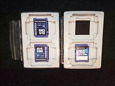 Delkin SD 633X USH-I 64GB & Centon 32GB Photo Memory Card lot of 3