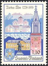 Finland 1979 Turku/Ships/Clock Tower/Buildings/Architecture/Heritage 1v (b735q)