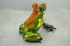 CHARD SHOW  Bronze Frog By the Frogman Tim Cotterill