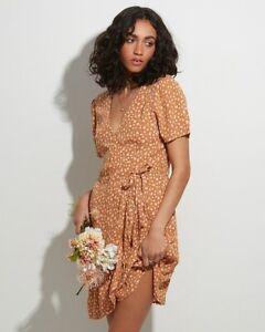BNWT BILLABONG LADIES MA BONITA WRAP DRESS SIZE XL (14) RRP $90