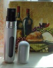 5ml Travel Mini Refillable Perfume Atomizer Bottles Pump Spray(3 PACK)