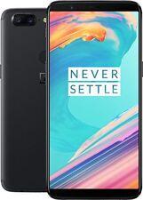 "OnePlus 5T A5010 6"", 128GB, DUAL-SIM, 4G Smartphone-Midnight Black"
