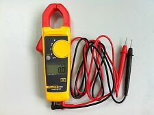 NEW FLUKE 302+ Digital Clamp Meter AC/DC handheld Multimeter Tester w/ Case