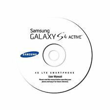 User Manual for Samsung Galaxy S4 Active (ruggedized phone) AT&T SGH-i537 on CD