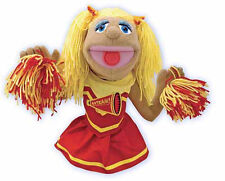 CHEERLEADER  HAND PUPPET # 2554 ~ Free Shipping Within USA ~ Melissa & and Doug
