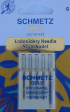 5 Gold Stick Nadeln Flachkolben 130/705 SCHMETZ 75