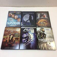 Lot of 6‼ Sci-Fi Fantasy Movie DVDs • Screamers Slipstream Halo 4 AVP Underworld