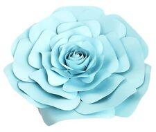 Decor In The Box - Light Blue Handmade Paper Flower 12 inch Fully Assembled