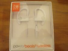 NIB BEATS BY DR. DRE POWERBEATS 3 BLUETOOTH WIRELESS EARPHONES (WHITE)