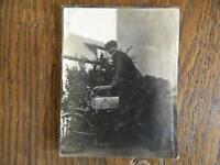 Antigua Foto Moto Motocicleta 1910