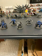 Warhammer 40K Chaos Space Marine terminators x5 0043