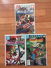 DC Comics SWORD OF THE ATOM SPECIAL #1, 2, 3 Full Run 1984-1988 Gil Kane
