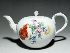 Meissen Blume 4 Blumenmalerei  - Teekanne 1 Liter        #K25