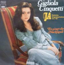 """7"""" GRAND PRIX 1974 (ITALY) GIGLIOLA CINQUETTI Ja MINT-"""