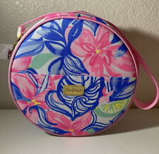 NEW Lilly Pulitzer HAVANA COCKTAIL Picnic Bag Lunch Cooler w/ Flatware & Glasses