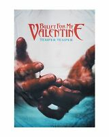 BULLET FOR MY VALENTINE - TEMPER FABRIC POSTER - Official Textile Flag - NEW