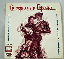 *-Vinyl-Schallplatte- Te ESPERO en ESPANA... pasodobles -GUITARRAS- castanuelas