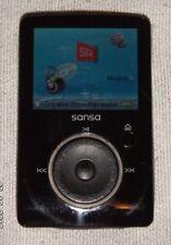 SanDisk Sansa Fuze Black (2 GB) Digital Media Player. Works great