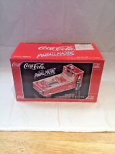 COCA-COLA PINBALL MACHINE MUSICAL COIN BANK I'D LIKE TO BUY THE WORLD A COKE