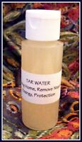 TAR WATER  2 oz ~ Cleansing Home, Remove Negative Energy, Protection