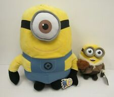 Despicable Me Minion Plush Toys 2 x Official Large & Small Minions - SHI S33