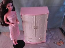 Vintage 70's or 80's Pink & White doll wardrobe