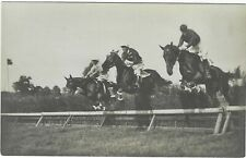 Stockholm 1912 Olympics Official photographic card Nr 256 Steeple Chase