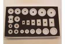 Serie di 24 tasselli in teflon filettati x forza potenza chiudi casse orologiaio