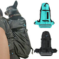 Adjustable Pet Front Cat Dog Carrier Backpack for Hiking Travel Bag Medium Large