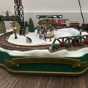 Mr Christmas going home for the holidays Train