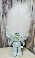 Guy Diamond Plush Trolls Stuffed Animal Dreamworks Toy Factory 2016 Blue Sparkle