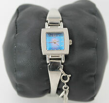 Working Condition Silver Tone Quartz Wrist Watch With Shoe Charm