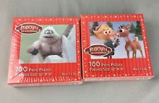 Rudolph Red Nose Reindeer Bumble Abominable Snowman Elf Puzzle 100 piece