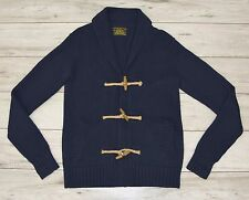 ALL SAINTS BEAUTIFUL NAVY BLUE BUTTONS CARDIGAN size M medium