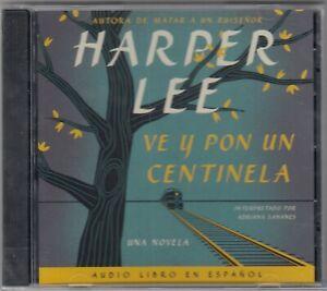 Ve y Pon un Centinela by Harper Lee (2015, CD MP3, Unabridged edition) NEW