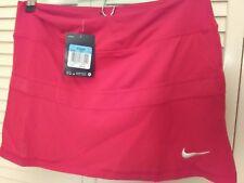 New NIKE Tennis Golf Skirt Skort DRI-FIT  Size Medium Red