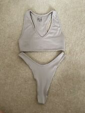 """Oh Polly Nude """"Here's the Scoop"""" Bikini Size XS Sold Out"""
