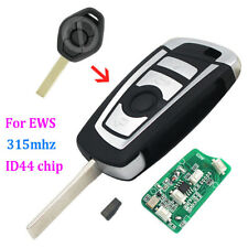 Modified flip 315MHZ remote key for BMW EWS 3 5 7 SERIES with ID44 chip HU92