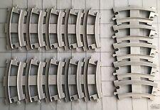 Lot of 15 Grey Curve Lego Duplo Train Tracks - Thomas The Tank Engine