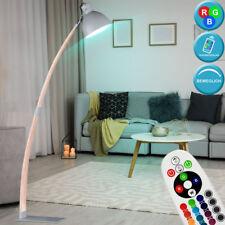 RGB Led Diseño Arco Lámpara Pie Cambio de Color Control Remoto Madera