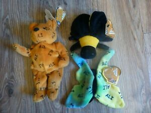 MUHAMMAD ALI 1999 SALVINO'S BOXING BAMMERS FULL SET OF 3 BUTTERFLY BEE & BEAR