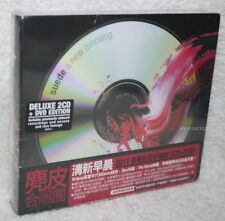Suede Head A New Morning Deluxe Edition Taiwan 2-CD+DVD w/OBI (digipak)