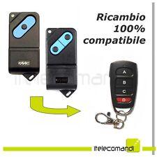 Telecomando radiocomando compatibile FAAC TM TM1 433 DS - 433DPH - 433 Mhz